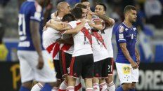 River recibe a Cruzeiro en el inicio de los octavos de final