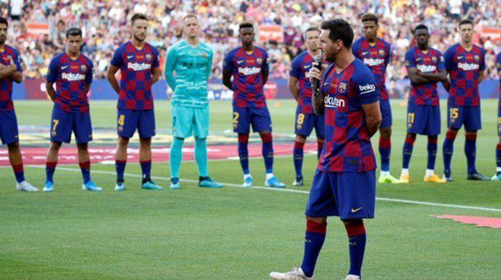 Messi: Vamos a pelear por todo