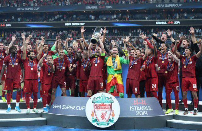 Liverpool ganó la Supercopa de Europa