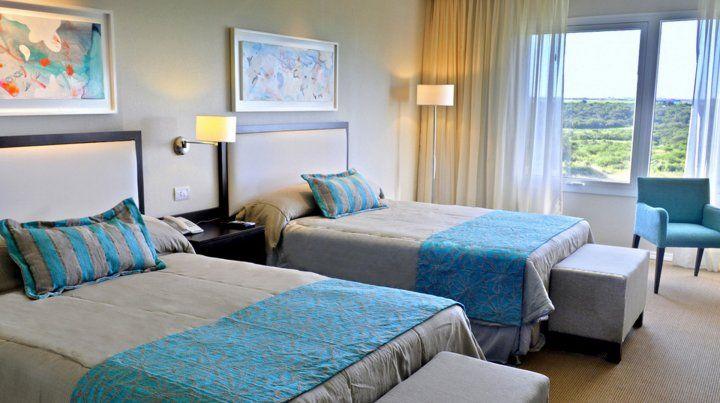 Imágenes del hotel.