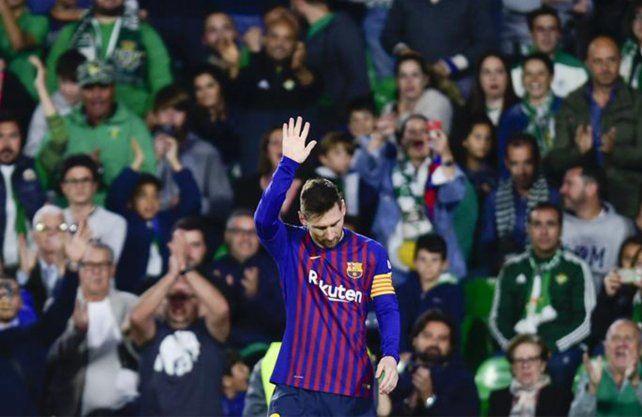Messi integró el equipo ideal de la UEFA