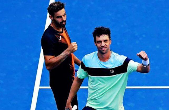 Zeballos se metió en las semifinales del dobles en el US Open
