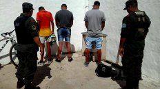 operativos narco y un buque en la paz se detuvo a 29 personas