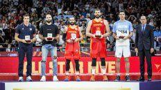 Luis integró el quinteto ideal del Mundial de China