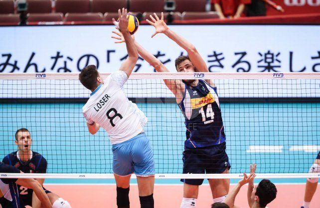 Argentina cayó ajustadamente en Fukuoka