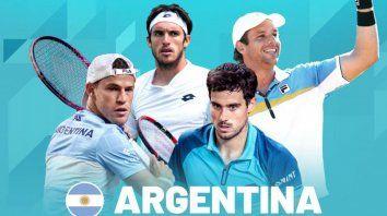 argentina confirmo el equipo para la nueva copa davis