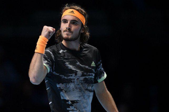 Tsitsipas dio el golpe y eliminó a Federer en el Masters de Londres