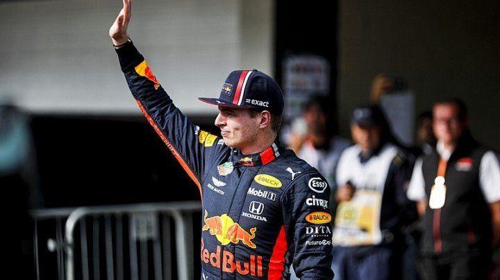Verstappen hizo la pole para el Gran Premio de Brasil de Fórmula 1