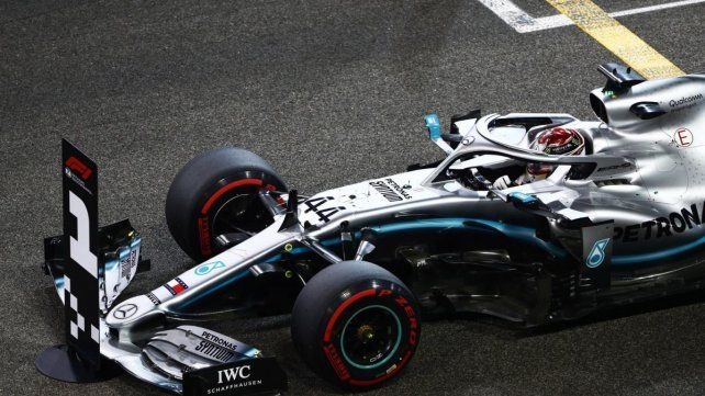 Lewis Hamilton se quedó con la última pole del año en Abu Dhabi