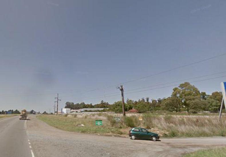 La esquina donde fue atropellada: Ruta 226 y La Pampa