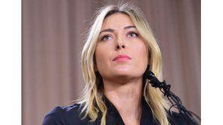 Maria Sharapova fue suspendida por dos años
