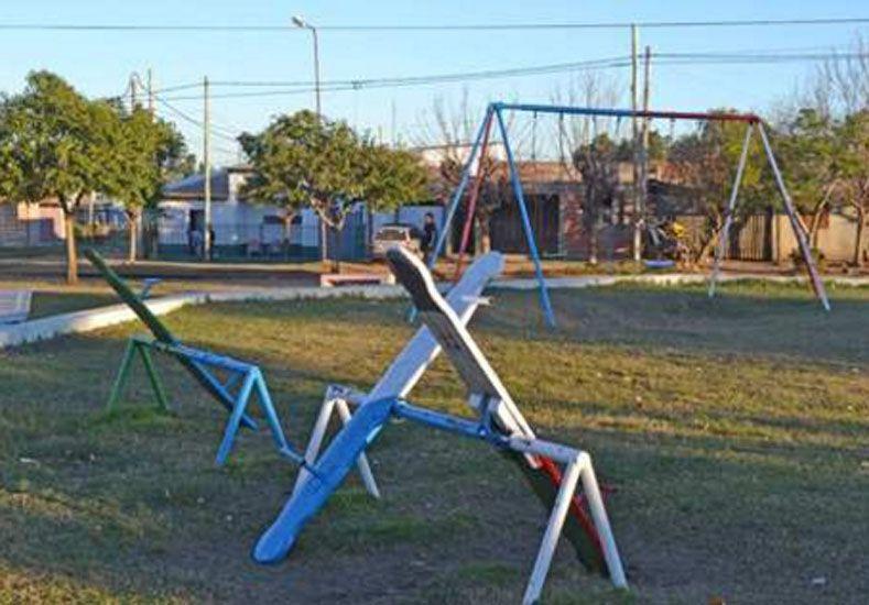La plaza donde habría ocurrido el secuestro. (Foto: El Sol)
