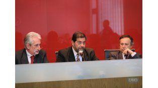 El juez Bonazzola presentaba hoy un cuadro gripal. Foto: UNO/Juan Ignacio Pereira