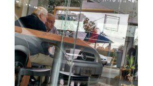 La dirigencia de Gimnasia se reunió el pasado viernes con Cervilla.