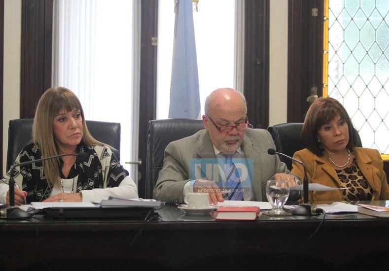 Fallo. Los camaristas federales aceptaron el juicio abreviado.  (Foto UNO/Juan Ignacio Pereira)