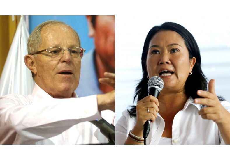 Perú: Kuczynski delante de Fujimori, según dos conteos rápidos