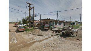 La zona donde fueron los hechos. (Foto: Google Street View)