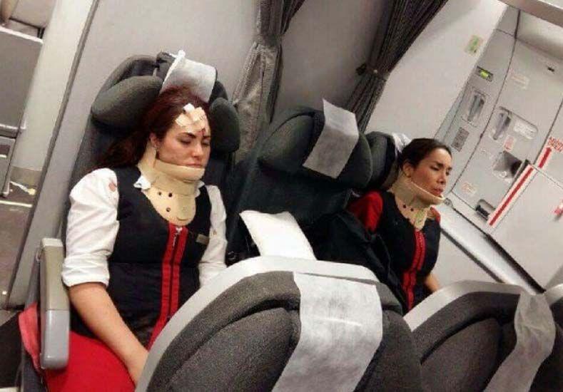 Susto en el aire: un avión que viajaba de Lima a Buenos Aires terminó con 23 heridos