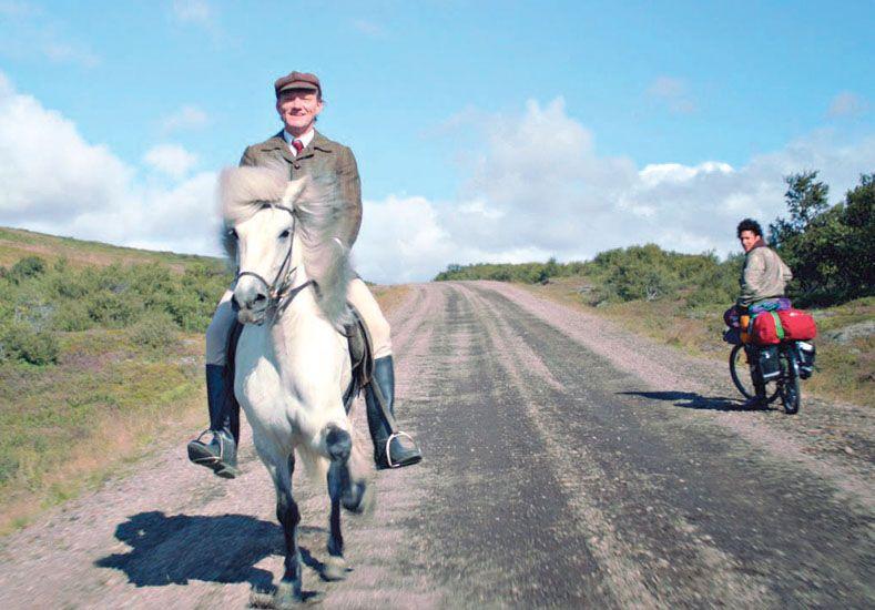 """De Islandia. """"Historias de caballos y hombres"""" es una bien lograda y rara pieza del cine nórdico."""