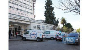 Desde el hospital San Roque manifestaron que ambos se encuentran en buen estado de salud y continúan recibiendo atención.  Foto UNO/Archivo