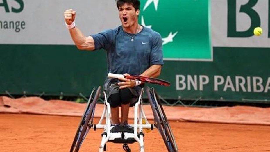 Orgullo argentino: Gustavo Fernández, campeón de tenis adaptado en Roland Garros