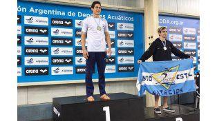 El concordiense Nicolás Petelín se consagró Campeón Nacional de Natación