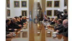 Reunión con la Mesa de Enlace: El gobierno acompañará a los productores en gestiones para obtener créditos