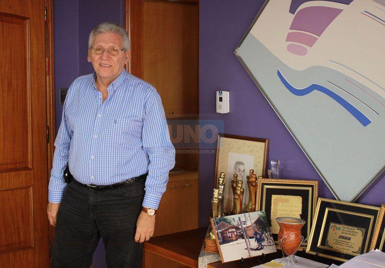 El dirigente de Paraná seguirá ligado al básquet amateur y no descartó volver.  (Foto: UNO/Juan Ignacio Pereira)