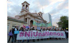 Una multitud se concentró en Concepción del Uruguay