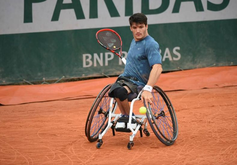 Gustavo Fernández se metió en la final del Roland Garros