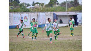 Maximiliano Villagra fue el autor de los dos goles de Banfield. Foto UNO/ Juan Manuel Hernández