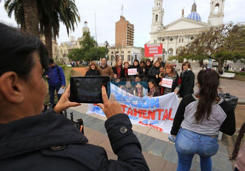 #NiUnaMenos: Paraná se movilizó contra los feminicidios y la violencia de género