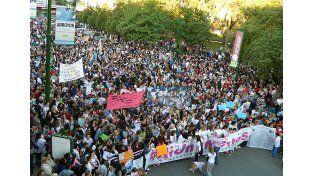{altText(Marcha de #NiUnaMenos el año pasado en Concepción del Uruguay. Foto UNO/Archivo,#NiUnaMenos: actos y marchas en todo el país contra la violencia de género)}