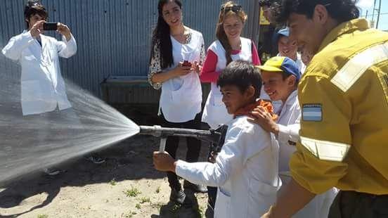 Foto: Bomberos Voluntarios de Ibicuy
