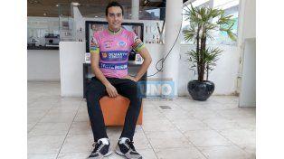 Buena participación. El ciclista Rafael Lajmanovich fue quinto y sexto mejor puntaje nacional en 500 metros y velocidad. Foto UNO/Mateo Oviedo