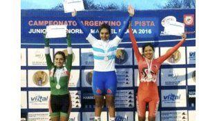 En el podio. Selene Barreto está atravesando un buen momento y lo demostró con una de plata y una de bronce.