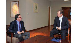 Bordet comienza a acordar estrategias con los legisladores nacionales