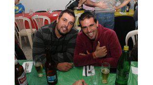 Fausto Montero se formó en Universitario y es parte de la Peña.  Foto  Gentileza/Paul Cian