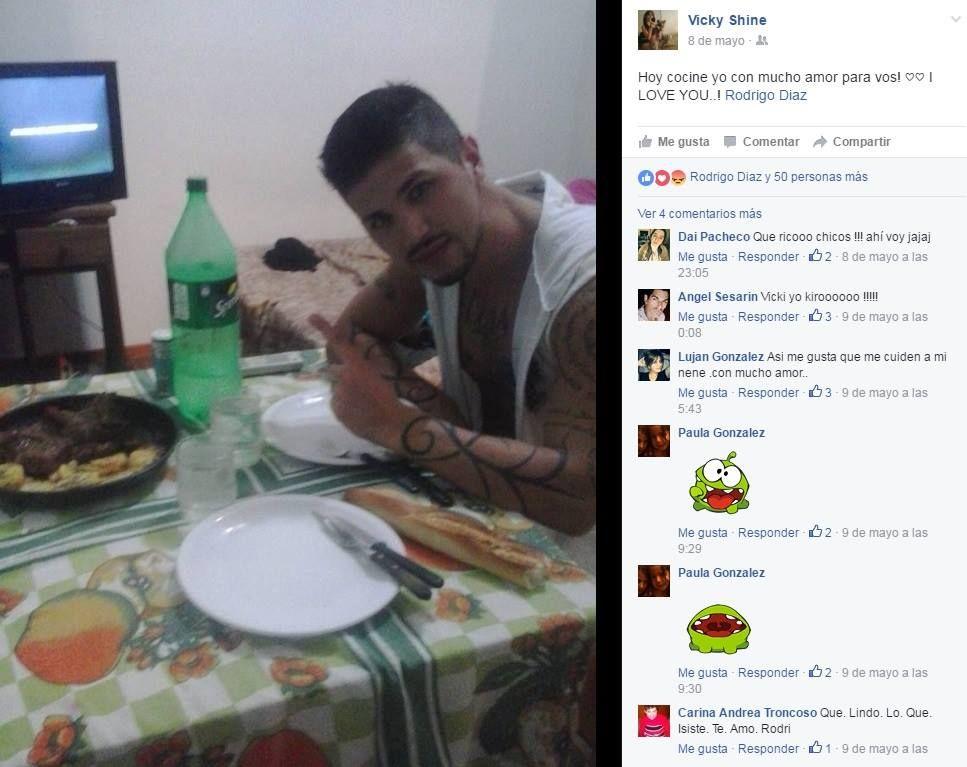 Rodrigo Díaz cada vez más parecido a Ricardo Fort y de novio con una chica