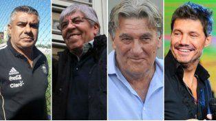 Elecciones en pie: Tapia, Moyano, Pérez y Tinelli presentaron avales