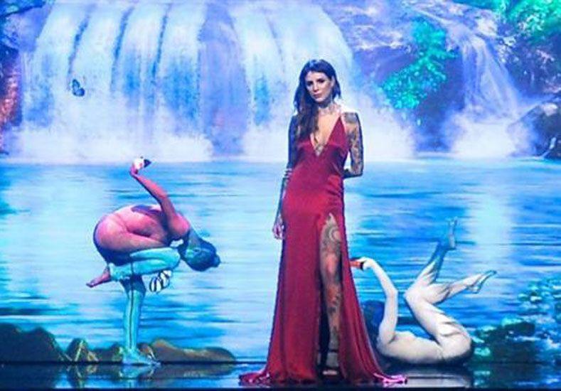 ShowMatch 2016: Candelaria Tinelli debutó como cantante