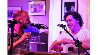 Stopello y Romero charlarán en jueves en La Hendija. Gentileza Charo Rodríguez.