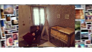 Así decoró Juana Repetto el dormitorio que usará su bebé