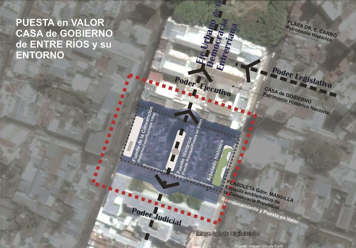 Pondrán en valor el Centro Cívico para el Bicentenario de la Independencia