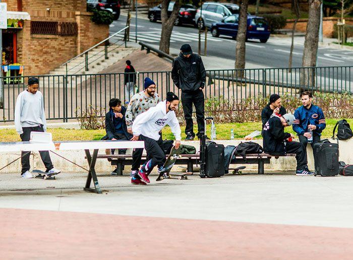 Los skaters filmaron en 90 países.