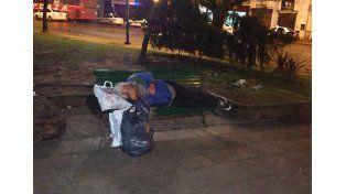 La comuna informó como actúa con las personas en situación de calle