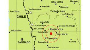 Tembló en Mendoza