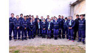 Los educadores trabajarán en las calles del centro de Paraná. Foto prensa Municipalidad.