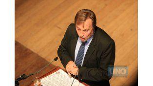 El intendente  Sergio Varisco  había decidido frenarla  en virtud de la repercusión pública de su contenido.   Foto UNO/Archivo