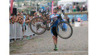 Sacrificio y esfuerzo. El ciclista entrerriano volverá a competir en un Juego Olímpico.